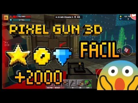 como tener experiencia,diamantes y monedas fácil en Pixel Gun 3D (YA NO FUNCIONA, LEER DESCRIPCION)
