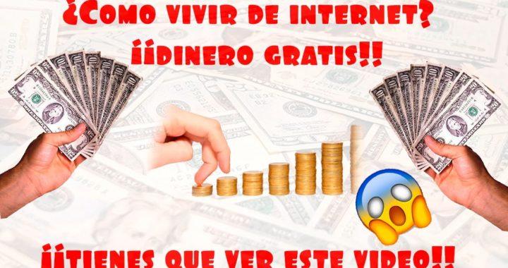 COMO VIVIR DE INTERNET // COMO TRABAJAR EN INERNET