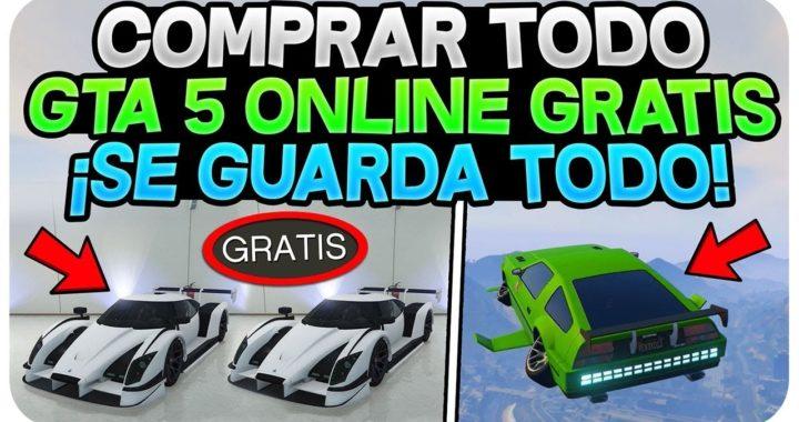 COMPRAR TODO GTA 5 ONLINE GRATIS 1.42 *SE GUARDA* (TENER TODO GRATIS COCHES , INSTALACIÓN... 1.42)