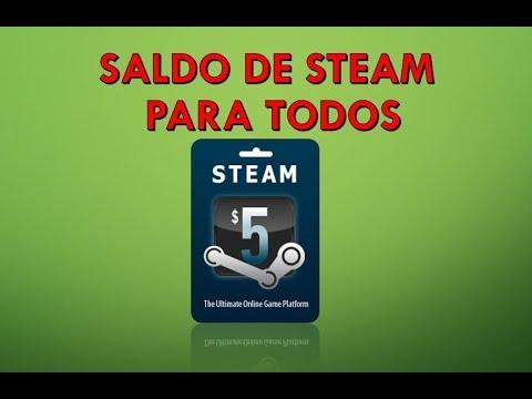 Consigue 3 a 6 Dolares a tu Cartera de Steam Gratis.