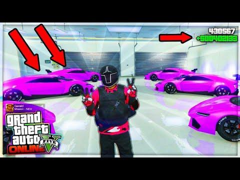 CONSIGUE +500.000.000$ DOLARES EN GTA 5 ONLINE HACIENDO ESTE TRUCO LEGAL PARA POBRES!