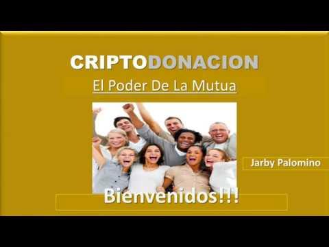 CRIPTODONACION PRESENTACIÓN - RECIBE EL DOBLE DE TU DONACIÓN EN BITCOINS