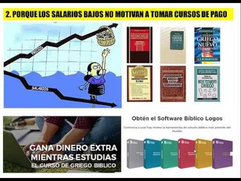 CURSO DE GRIEGO BIBLICO Y GANA UN DINERO EXTRA MIENTRAS ESTUDIAS COSTA RICA