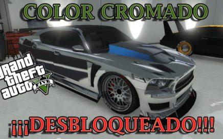 DESBLOQUEA FACIL EL COLOR CROMADO DE COCHES GTA V ONLINE 1.41