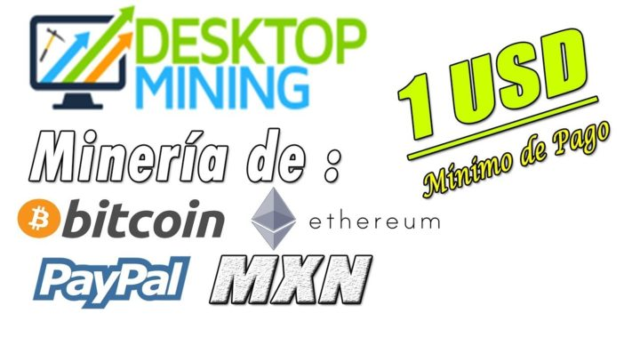 Desktop Mining Nueva Página de Minería   Minimo de Pago 1$   Gokustian