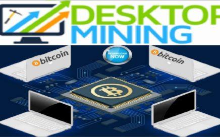 DESKTOPMINING $109,00 DÓLARES - PRIMERA PRUEBA DE PAGO - MINAR BITCOIN CON TU PC CPU GRATIS 2018