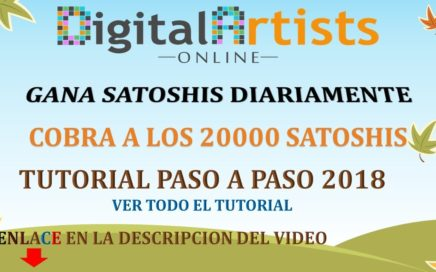 Digital Artists Online GANA DINERO CADA 5 MINUTOS 2018
