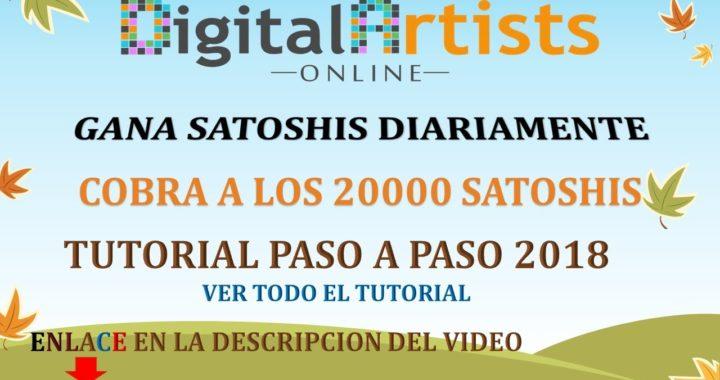 Digital Artists Online GANA DINERO CADA 5 MINUTOS 2018