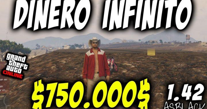 DINERO INFINITO BRUTAL - FUNCIONANDO - GTAV Online 1.42 - GANAR 750.000$ SIN PARAR - (PATCHED)