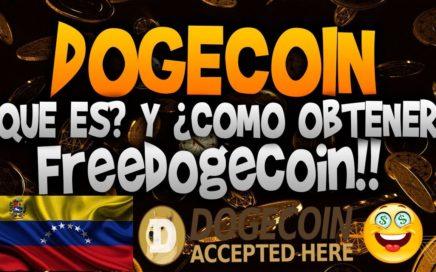 Dogecoin - Que es?? / Como crear wallet o monedero y  como Obtener  / informaciones millonarias