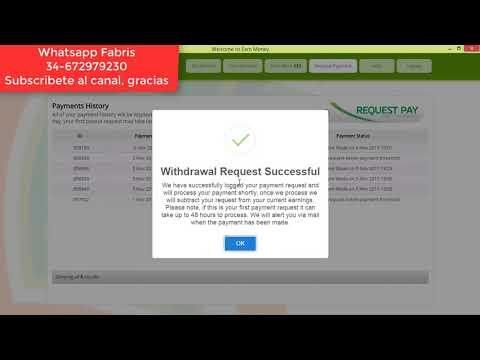Earn Money Network $48.00 Dólares Pago a PayPal €7.00 Euros pago de Marketagent Encuestas -Nuev