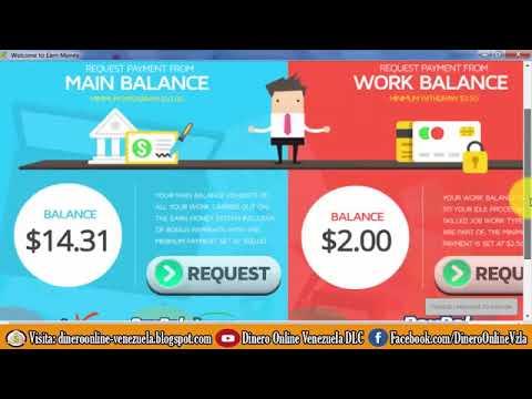 EARN MONEY PRIMER PAGO por Paypal 336 Gana Dinero a Paypal