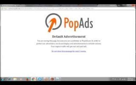 El adSense de los Popup Ganar dinero para paypal 2017 PopAds pagando