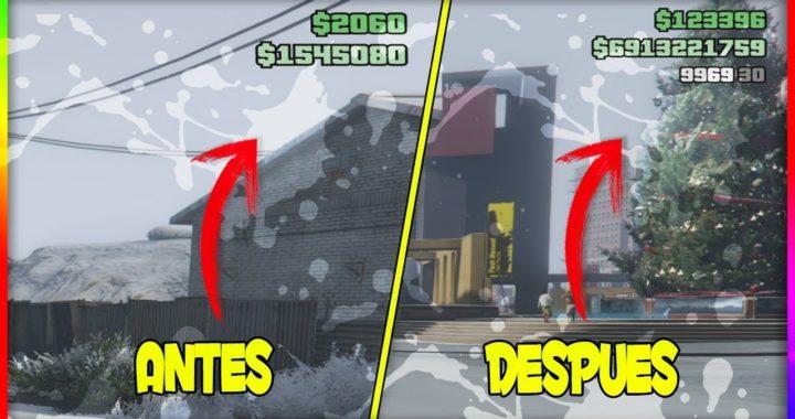 *EL MEJOR METODO* DINERO INFINITO FÁCIL GTA 5 ONLINE 1.42 PARA EL DLC NAVIDAD