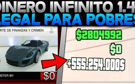 *EL MEJOR METODO* DINERO INFINITO FACIL Y RAPIDO PARA POBRES GTA 5 ONLINE 1.41