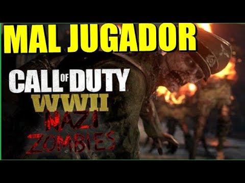 Eres un MAL Jugador Cuando.. Call Of Duty WWll Zombies nazis