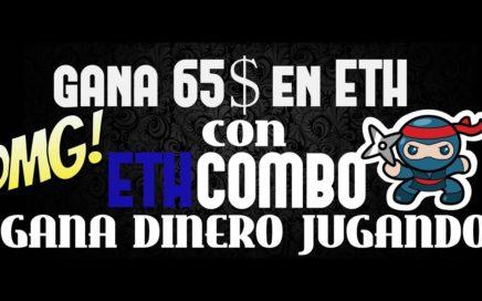 ETH COMBO| GANA 65$ EN ETH| GANAR DINERO ONLINE VENEZELA