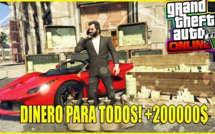 FELIZ NAVIDAD! *ROCKSTAR TE QUIERE REGALAR DINERO EN GTA 5* MIRA COMO !