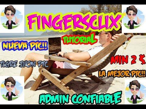 Figersclix 2018 Que es y como Funciona?   Fingersclix Pagina Hermana de Indexclix   Fingersclix Paga