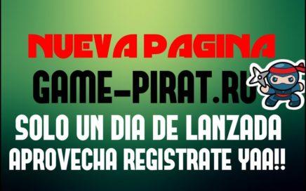 GAME-PIRAT.RU  GANA RUBLOS GRATIS A PAYEER SIN INVERSIÓN  PAGINA RECIÉN LANZADA