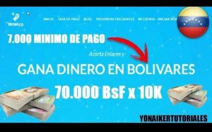 Gana 250.000 BsF con Este Acortador Venezolano (Dinero para Venezuela) 2017
