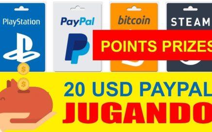 Gana Dinero 20$ para PayPal jugando con Points Prizes 2017