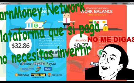 Gana Dinero con Earnmoney Network