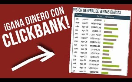 Gana dinero con esta pagina rapidamente | clickbank.com