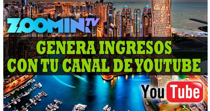 Gana Dinero con Youtube & Zoomin.TV | Pago de $33,30 USD | Como Manejar tu Dashboard de Zoomin.TV