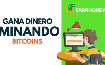Gana dinero en automátcio con Earn Money - Regalando 10$ a nuevos registros