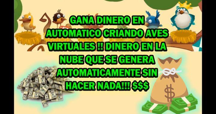 Gana dinero en automático criando aves virtuales!!!!