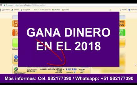 GANA DINERO FÁCIL EN EL 2018 - OPORTUNIDAD ÚNICA!!!