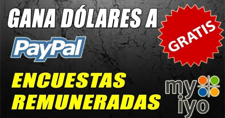 Gana Dinero Gratis a Paypal con Encuestas Gratuitas | Myiyo Tutorial | Gokustian