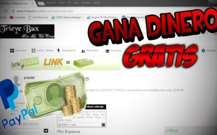 GANA DINERO GRATIS, SOLO VIENDO ANUNCIOS //Pagos Por Paypal A Partir De 0.200$ | TrieyeBux