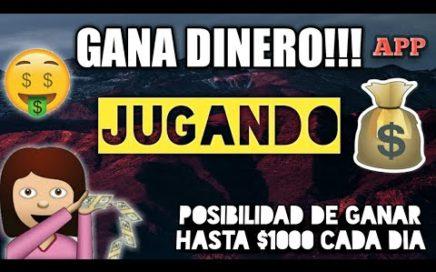 GANA DINERO!!! JUGANDO LA FORMA MAS FACIL Y FUNCIONAL APP ANDROID