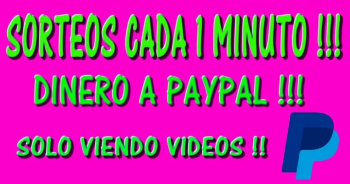 GANA $DINERO PARA PAYPAL CADA 1 MINUTO !! 2017