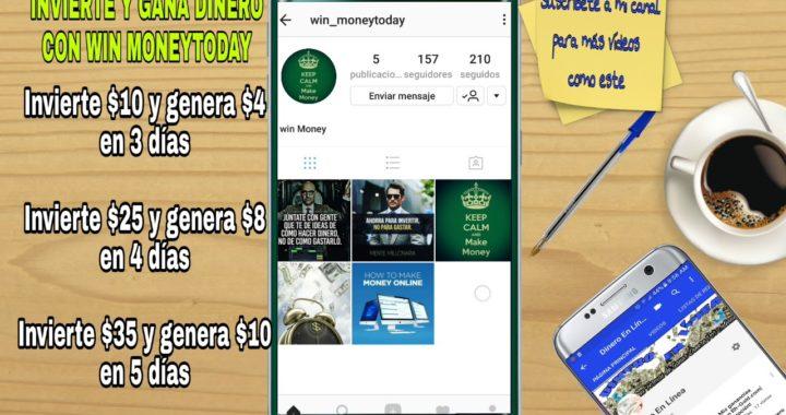 Gana Dinero Para PayPal Con Win Moneytoday   2017