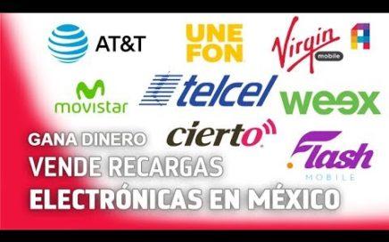 GANA DINERO PONIENDO RECARGAS DE TELÉFONO EN MÉXICO 2017