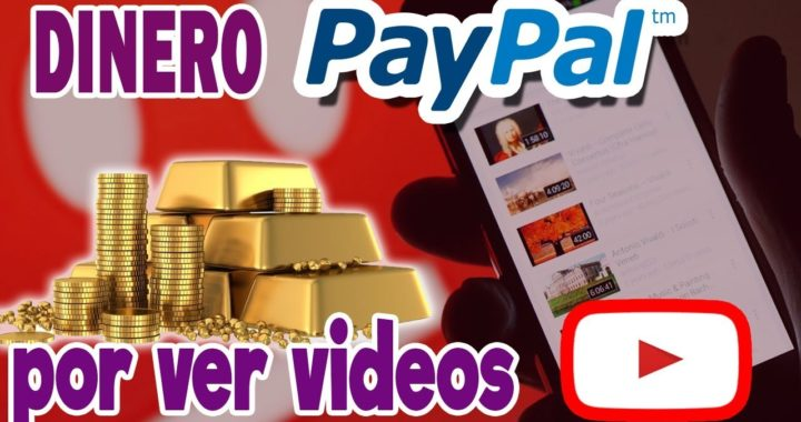 GANA DINERO POR VER VIDEOS DE YOUTUBE FACIL
