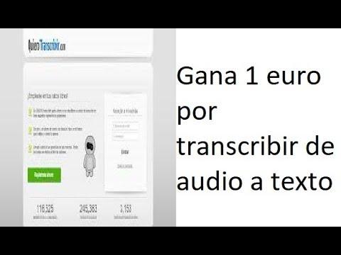 Gana Dinero Transcribiendo Textos con atexto