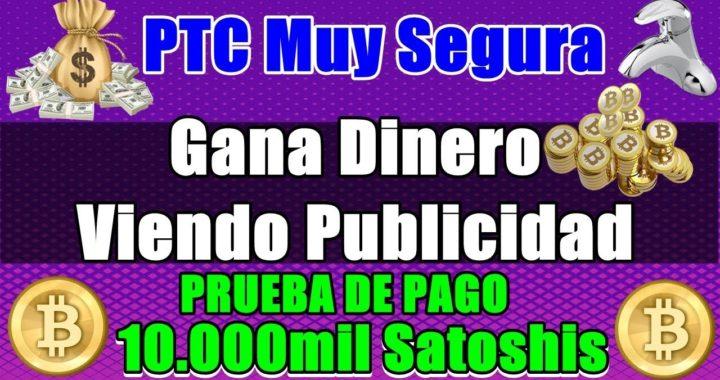 Gana Dinero Viendo Publicidad Todos los Días ( PTC Muy Segura ) + Prueba De PAGO
