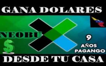 GANA DOLARES CON NEOBUX VENEZUELA