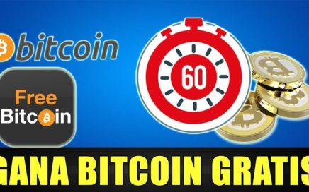 Gana Satoshis Gratis cada 60 Minutos | Nuevo Pago de Freebitcoin | Gokustian