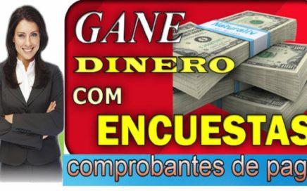 GANANDO € 32.00 EUROS A PAYPAL - ENCUESTAS LA MEJOR PAGINA