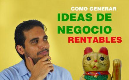 Ganar dinero: COMO GENERAR IDEAS DE NEGOCIO