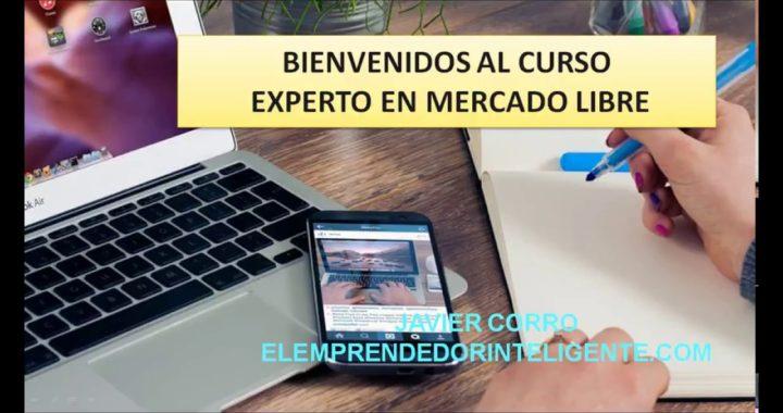 GANAR DINERO CON EXPERTO EN MERCADO LIBRE VIDEO CURSO
