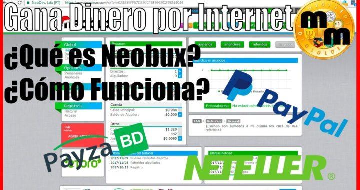Ganar Dinero en Internet viendo Anuncios $$$ Fácil y Rápido | 2018 Neobux