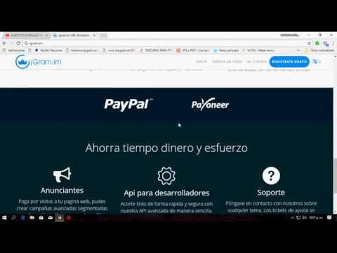 GANAR DINERO GRATIS - IGRAM.IM EL MEJOR ACORTADOR DE ENLACES 2018