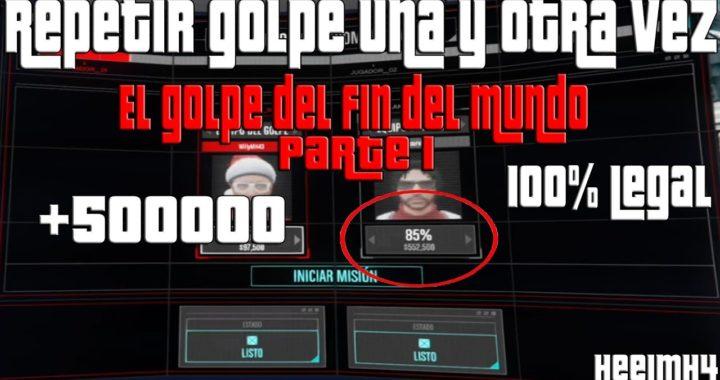 Ganar dinero legalmente en GTA Online (DLC El Golpe del Fin del Mundo)