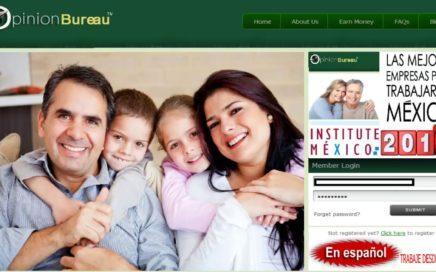 Ganar Dinero México llenando  encuestas